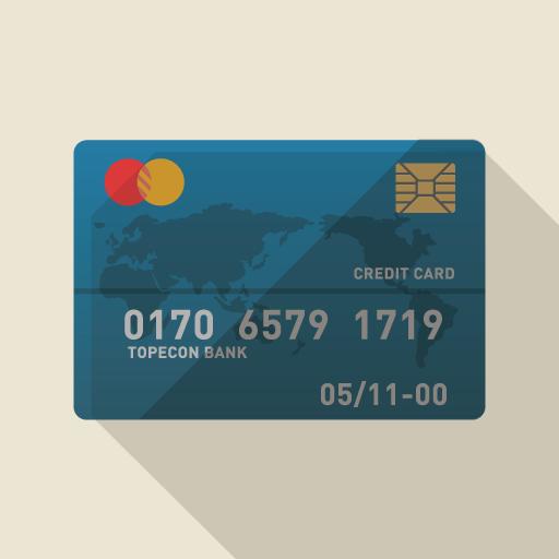 クレジットカードの見本
